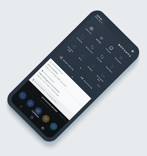 Download LineOS Dark Theme LG G7 & V35 MOD APK 2019 Latest