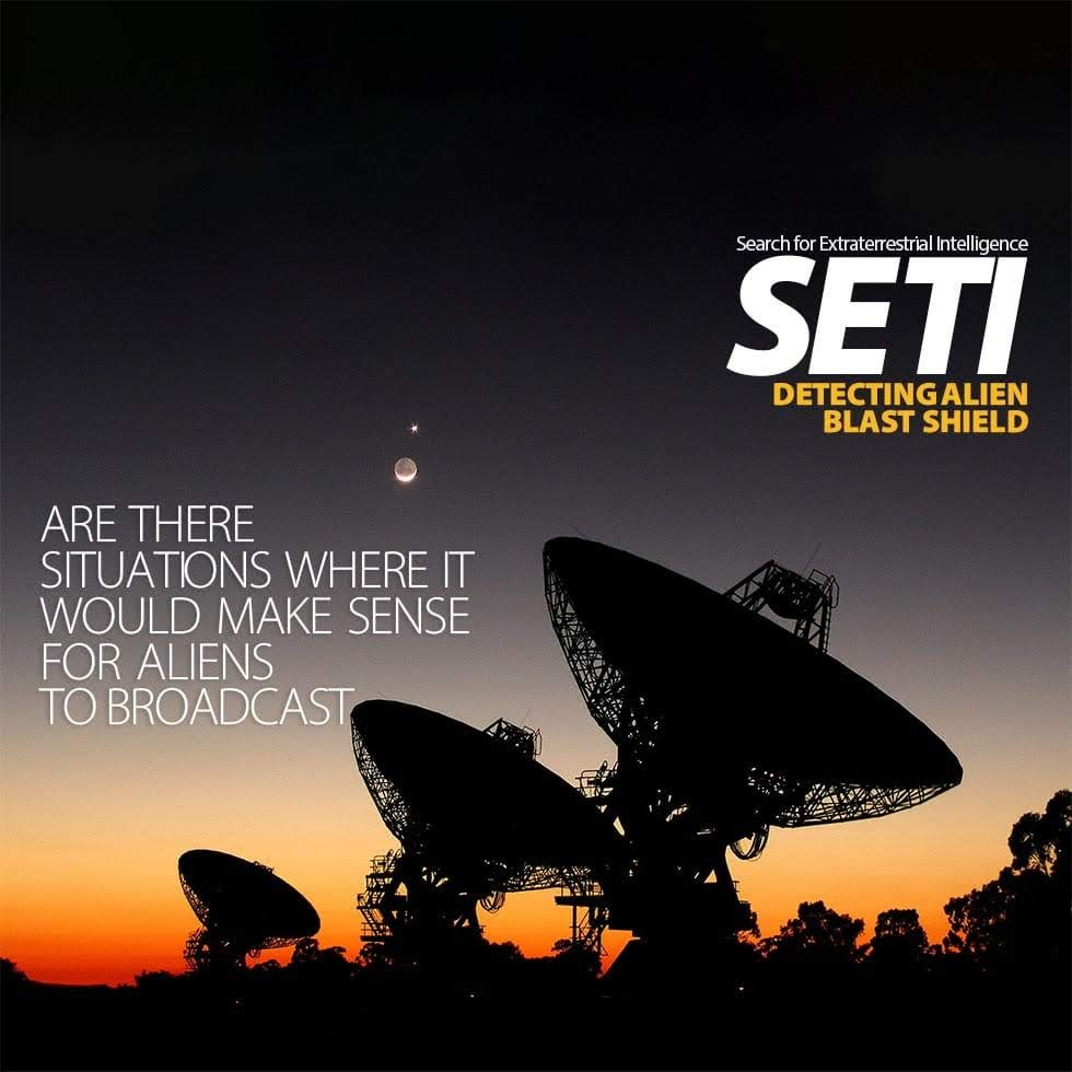 SETI – Detecting Alien Blast Shield