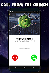 Call Grinch The Green Guy *OMG HE ANSWERED* - náhled