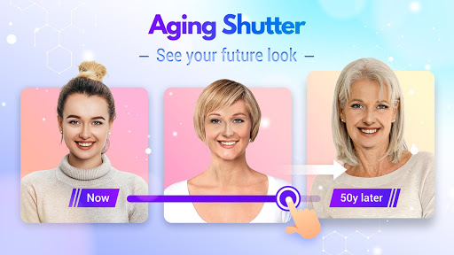 Screenshot for HiddenMe - Aging Camera, Face Scanner in United States Play Store