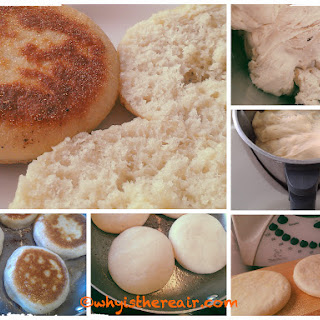 Simplest Yet Thermomix English Muffins.