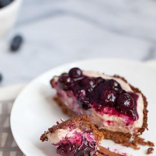 Blueberry Nutella cream pie