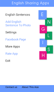 English Sharing Apps - náhled