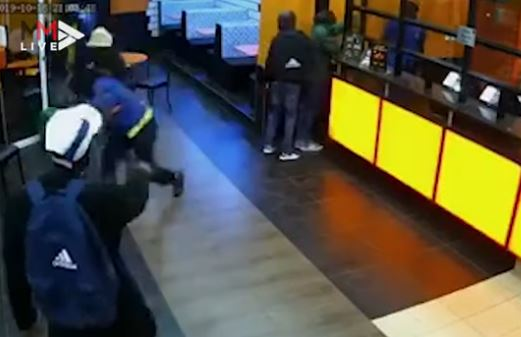 WATCH | Armed robbers hit Chicken Licken and escape with cash - but no hot wings - TimesLIVE