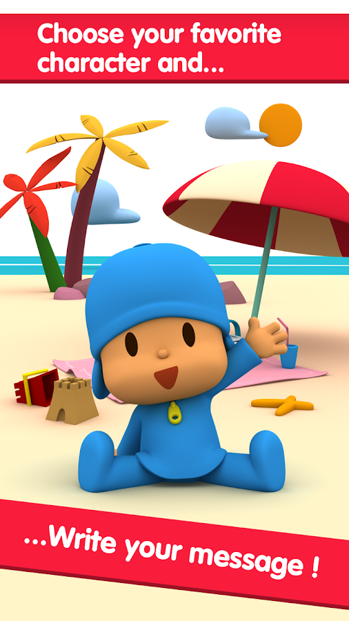 Pocoyo e-Cards- screenshot
