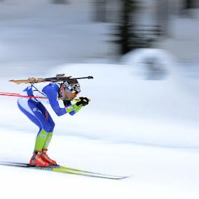 Biatlon by Gregor Dinghauser- Dingo - Sports & Fitness Snow Sports
