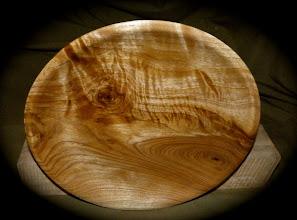 Photo: butternut crotchwood plate