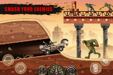 Hill Zombie Racing - Earn To Climb APK screenshot thumbnail 5