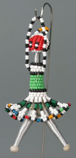Doll:Zulu Bead Doll