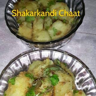 Shakarkandi Chaat | Sweet Potato Chaat