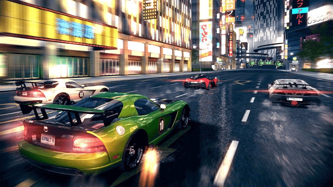 Street Flight : The Best Racing Game