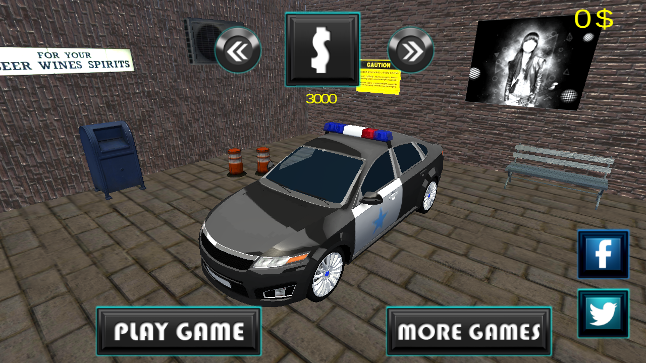 Police Force Parking Training- screenshot