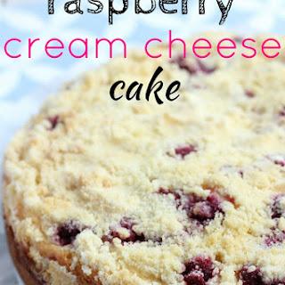 Raspberry Cream Cheese Cake