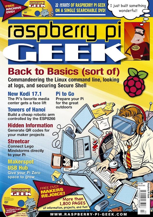 Raspberry Pi Geek- screenshot