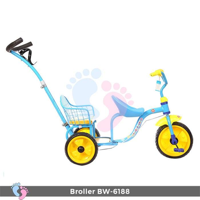 Xe đạp đẩy ba bánh Broller XD3-6188 5