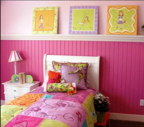DIY女孩卧室装饰