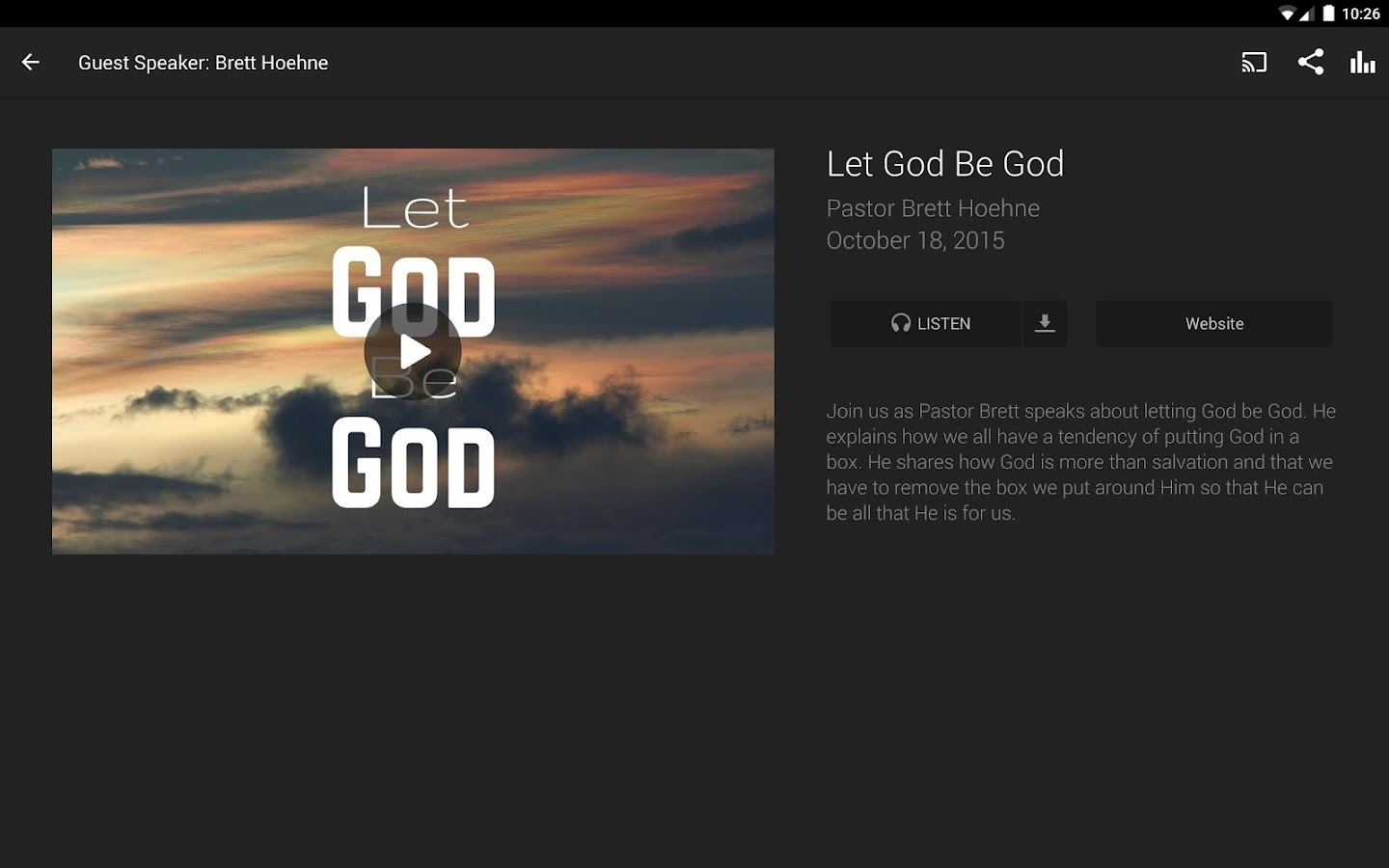 The Source Church- screenshot