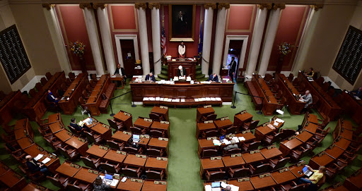 With time running out for a new state budget, Capitol is quiet