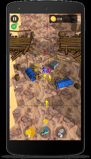 Ninja fight: stratégie jeux sans internet  captures d'écran 2