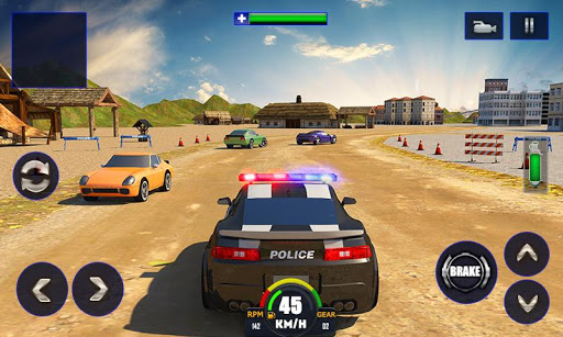 Police Chase Adventure sim 3D (Mod Money)
