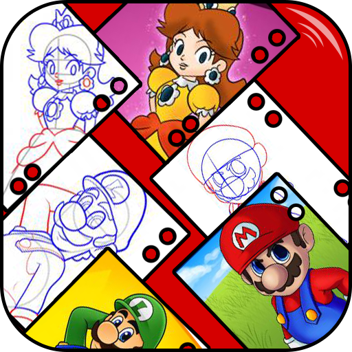 Draw Mario Characters