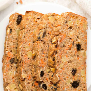 Healthy Morning Glory Banana Bread.