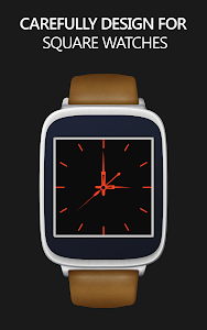 Decent Black for Moto 360 screenshot 4