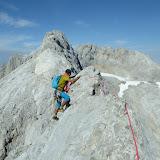 Fotos da aresta Torre Blanca - Tiro Tirso, na zona de Fuente Dé (Picos de Europa)