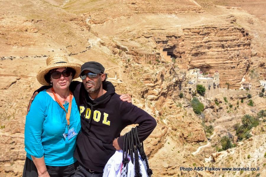 Гид в Израиле.