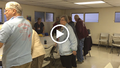Video: Space Coast Sams members lining up for supper.
