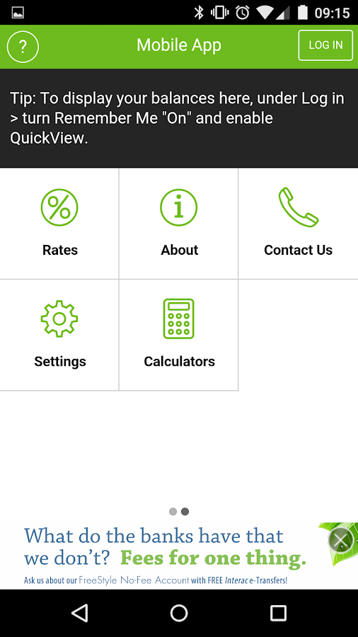 Innovation CU Mobile Banking- screenshot