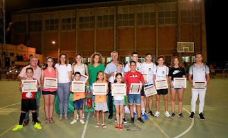 Benahadux premia a sus campeones