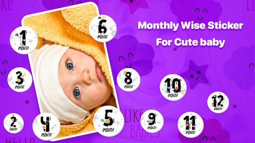 Baby Photo Editor:Precious Baby Milestone Pictures screenshot 4