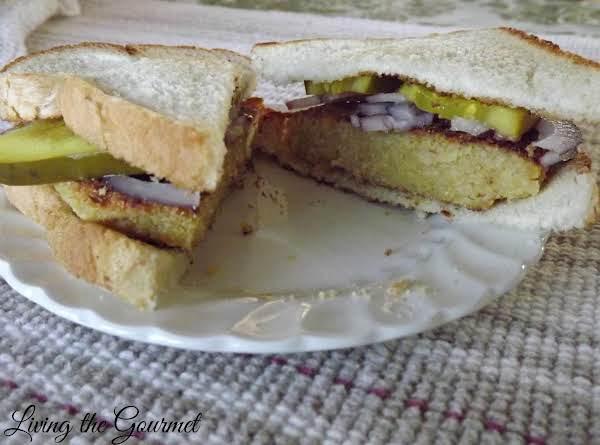 Chickpea Patty Sandwich Recipe