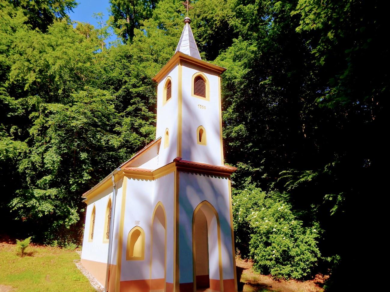 Vasvár - Szentkúti Rózsafűzér királynője kápolna és keresztút