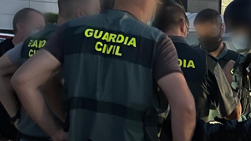 Imagen del dispositivo desplegado para la detención.