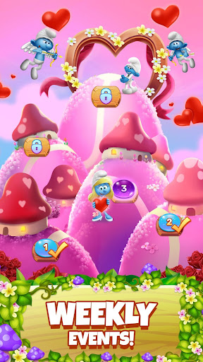 Smurfs Bubble Shooter Story 2.15.050204 screenshots 7