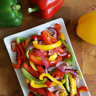Easy Oven Roasted Peppers Recipe