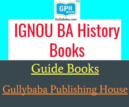 Gullybaba IGNOU BA History Books