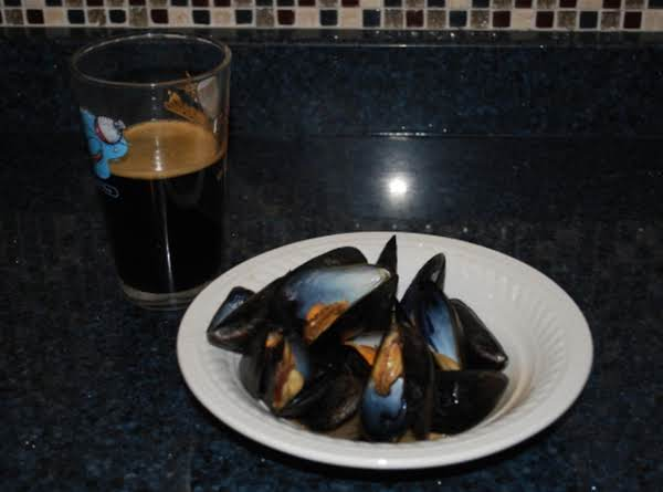 Mussels With Guinness Butter
