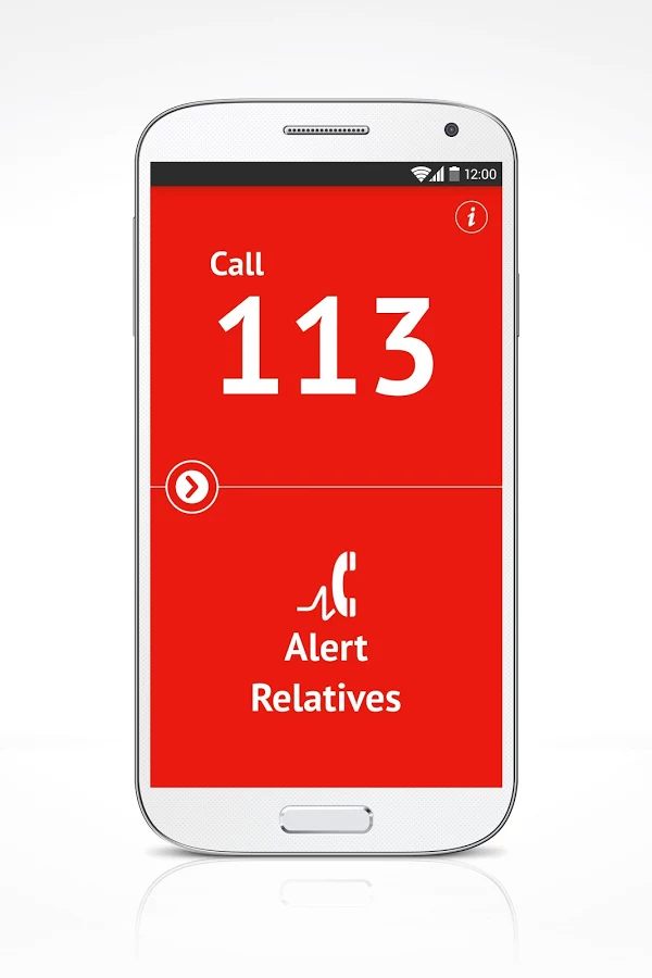 MediCall App - in an emergency- screenshot