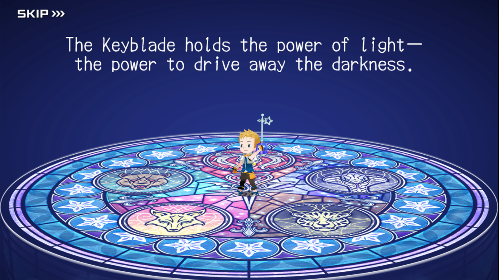 KINGDOM HEARTS Unchained χ- screenshot