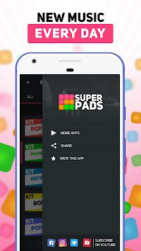 SUPER PADS - Кліки APK screenshot thumbnail 3