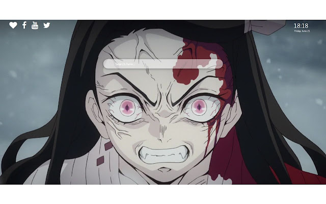 Kimetsu No Yaiba Nezuko Hd Wallpapers New Tab