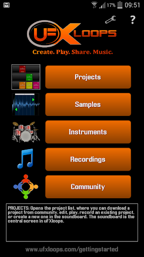 uFXloops Music Studio 2.16 screenshots 1
