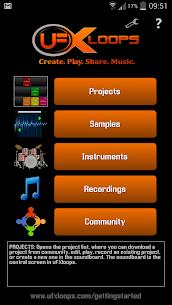 uFXloops Music Studio 1