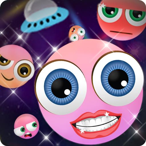 Emoji Keyboard:ET Girl Icon