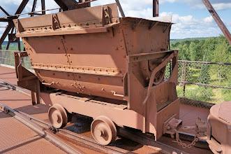 Photo: An ore car