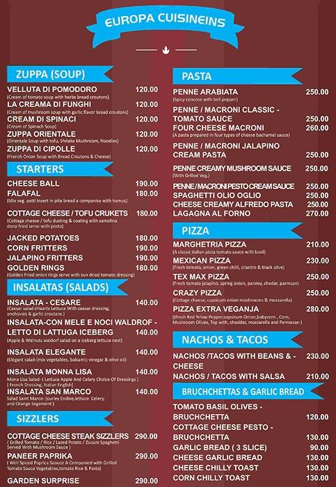 Pcook Veg Fine Dine menu 4