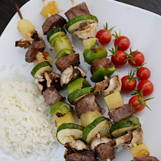 Grilled Teriyaki Kabobs